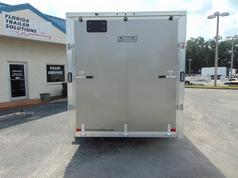 """New ALCOM E-Z Hauler 7X16 7k All Aluminum Enclosed Cargo Trailer w/6"""" Additional Height"""