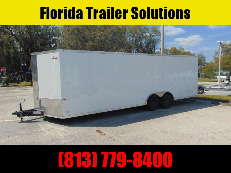 New Rock Solid Cargo 8.5X24TA 10K Car / Racing Trailer