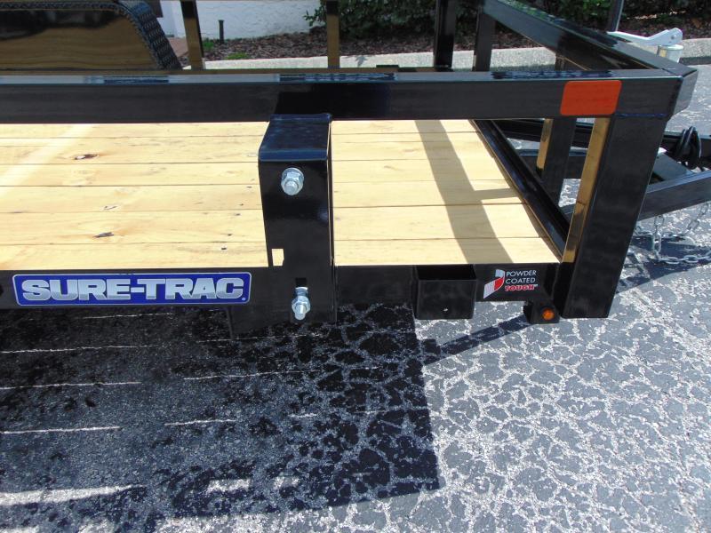 New Sure-Trac 5X8 Tube Top 3k Utility Trailer