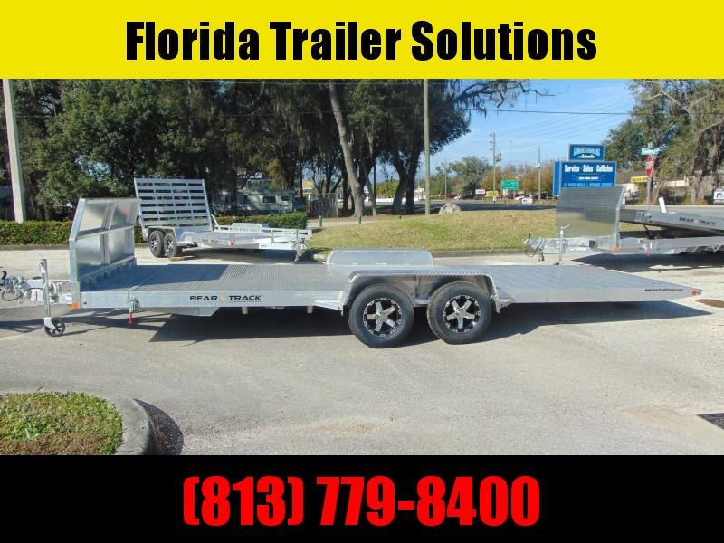 2021 Bear Track 7X20 All Aluminum Tilt Car Hauler