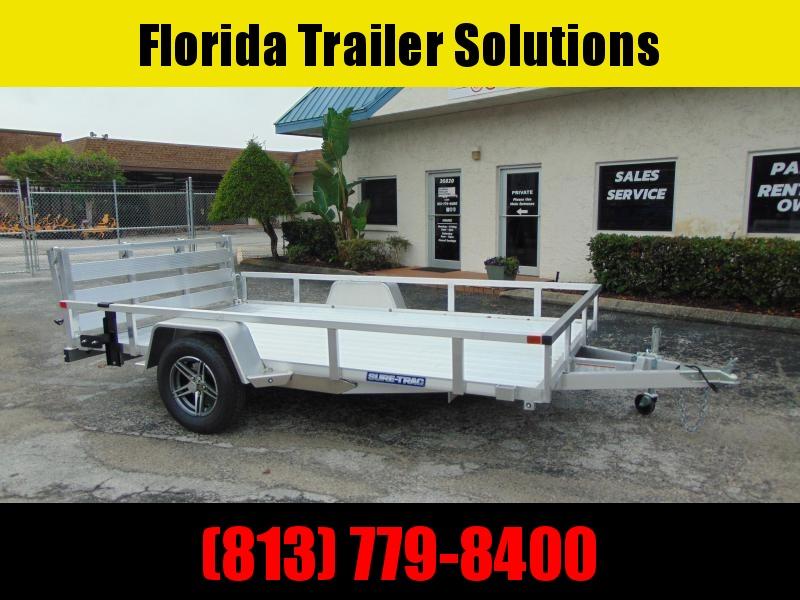 2021 Sure-Trac 7X12 Aluminum Tube Top Utility Trailer