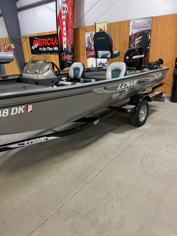 2010 Lowe ST170 Bass Boat