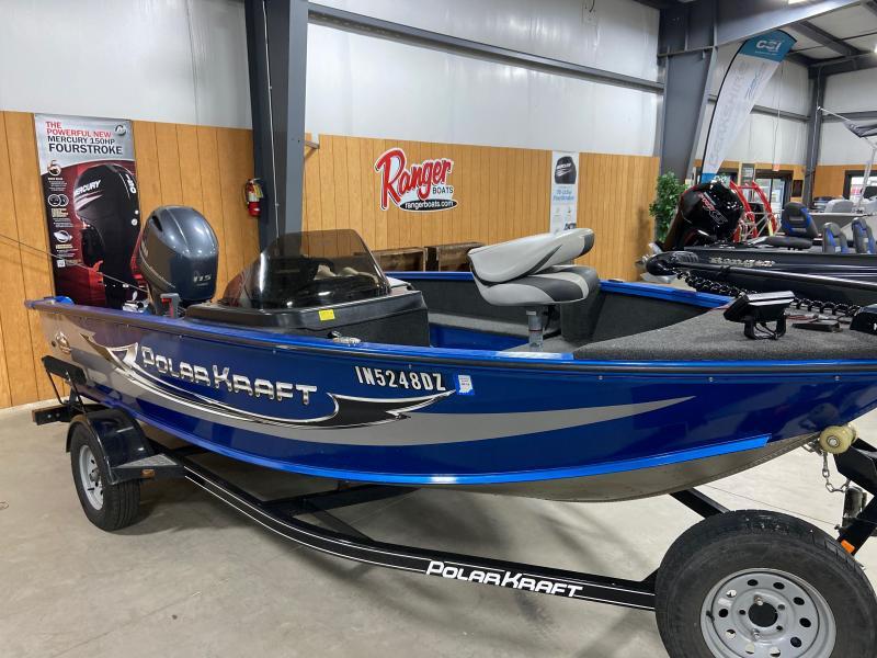 2018 Polar Kraft 166SC Fishing Boat