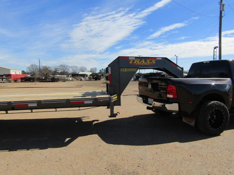 2019 Traxx Trailers GN-TD40 Flatbed Trailer