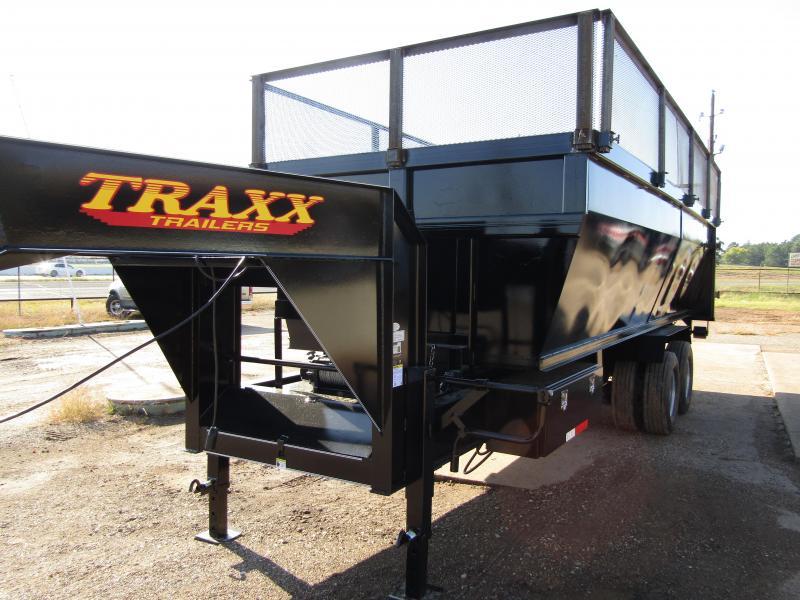2017 Traxx Trailer 20' Roll Off Gooseneck