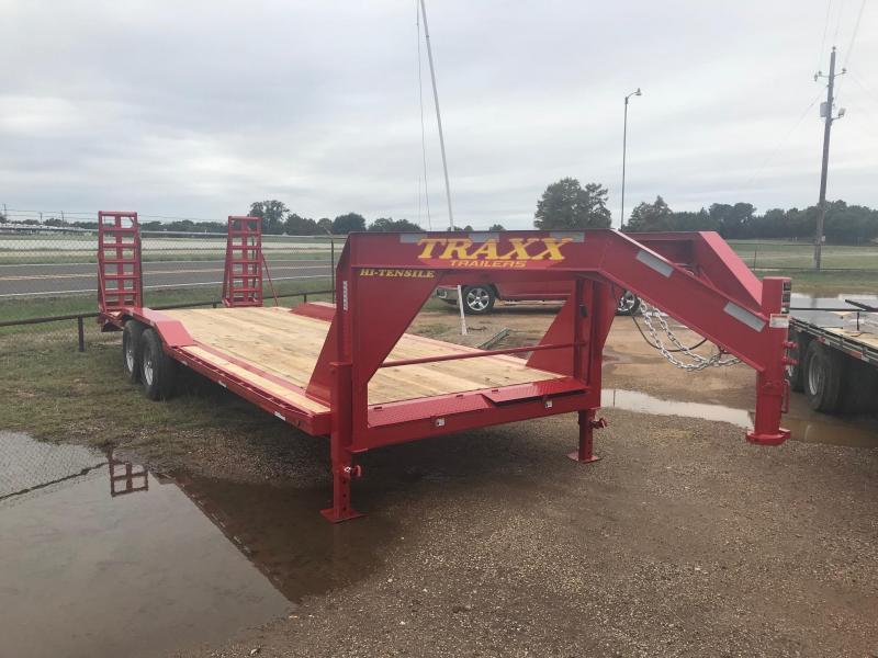 2019 Traxx Trailers Heavy Duty Equipment Hauler Gooseneck