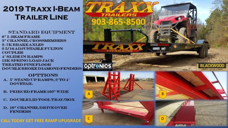 2019 Traxx Trailers Heavy Duty Equipment Hauler Gooseneck