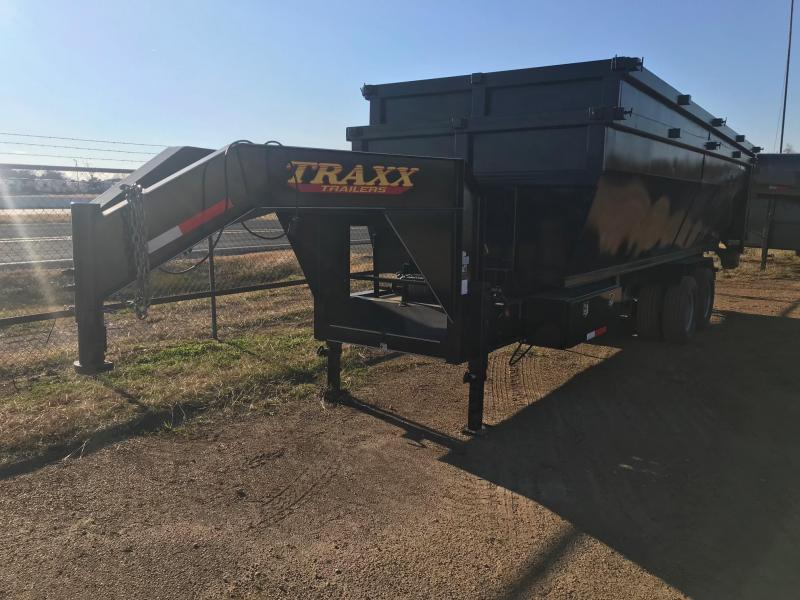 2017 Traxx Trailers 20 Roll Off Gooseneck Dump Trailer