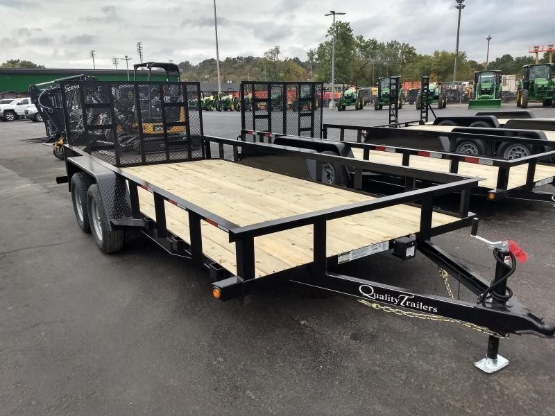 2021 Quality Trailers GEN DUTY LANDSCAPE 16 FT Utility Trailer
