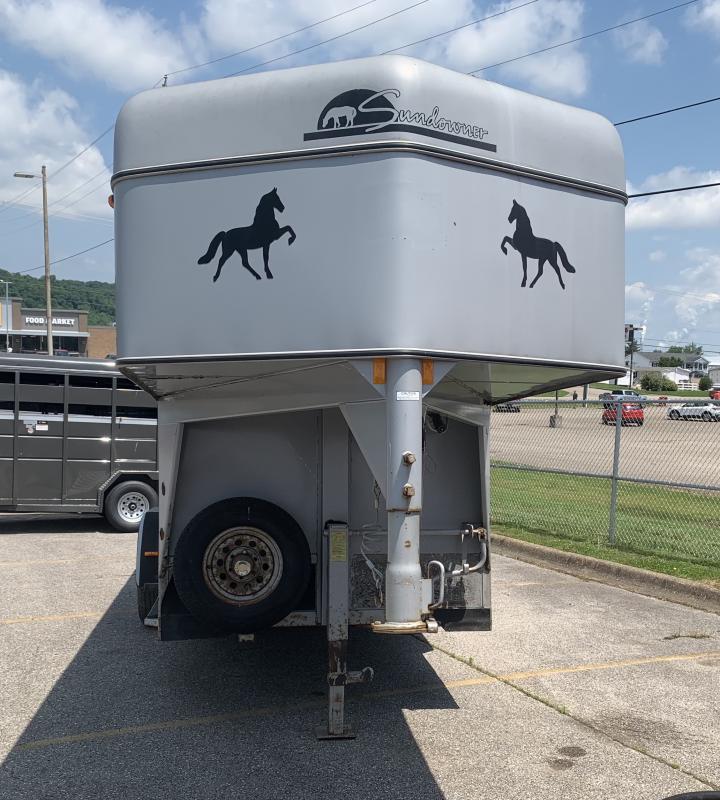 1996 Sundowner Trailers horse trailer Gooseneck Bodies