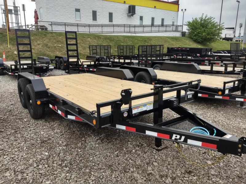 "2021 PJ Trailers 16' X 6"" CHANNEL EQUIPMENT TRAILER Equipment Trailer"