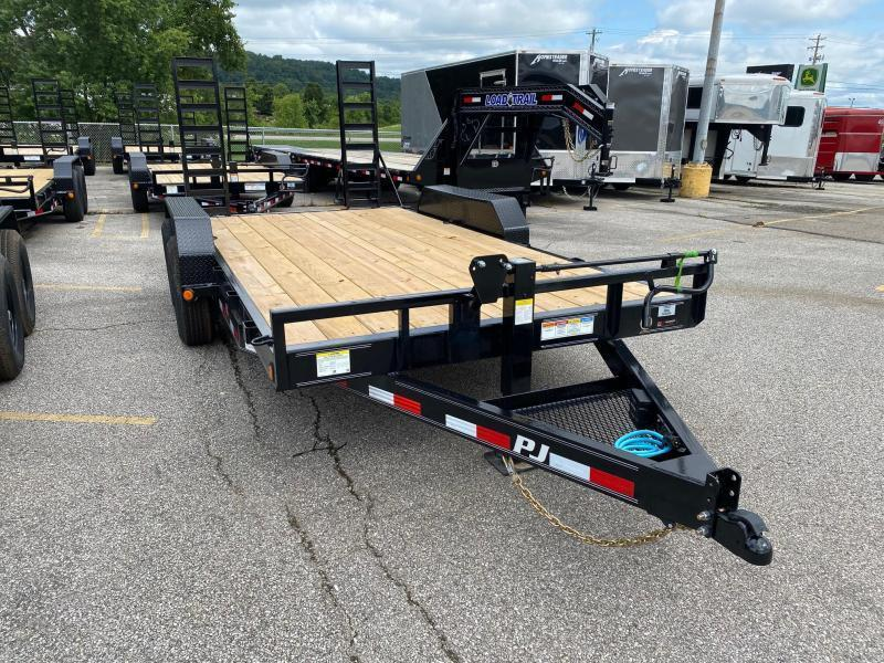 2021 PJ Trailers CC162 Equipment Trailer