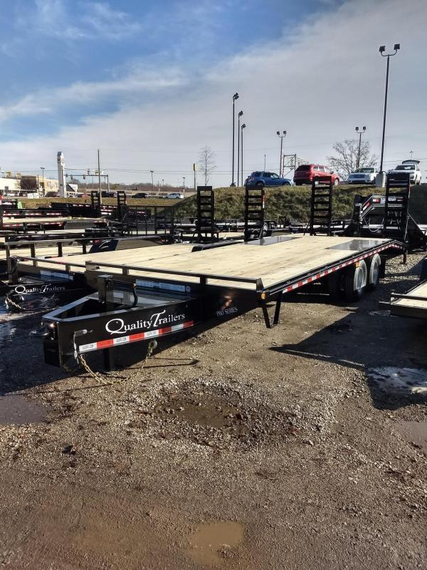 2021 Quality Trailers 25 FT PRO-HP PRO GRADE PINTLE HITCH TRAILER Equipment Trailer