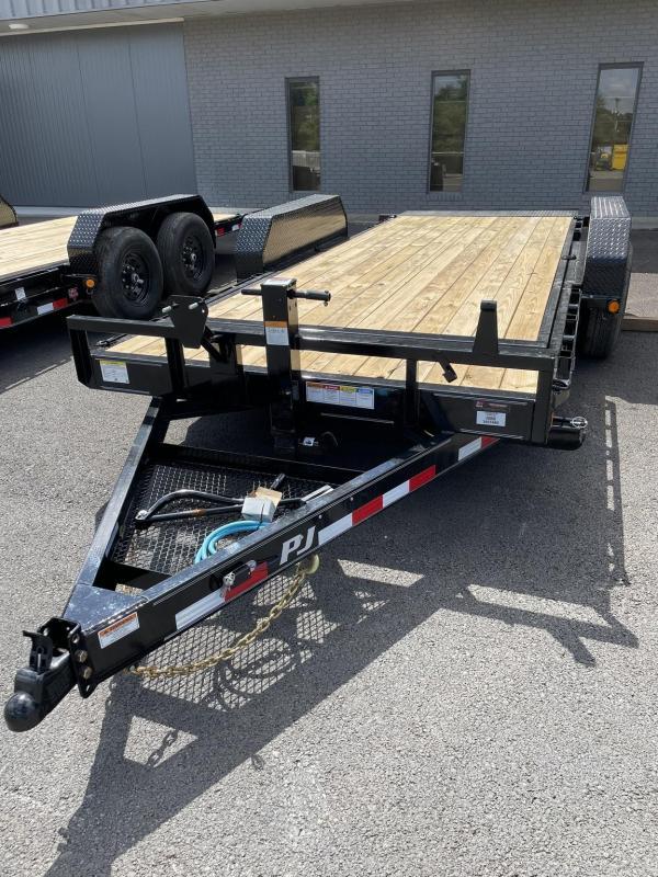 """2022 PJ Trailers 83"""" x 18' 6"""" Channel Equipment Tilt (T6) Equipment Trailer"""