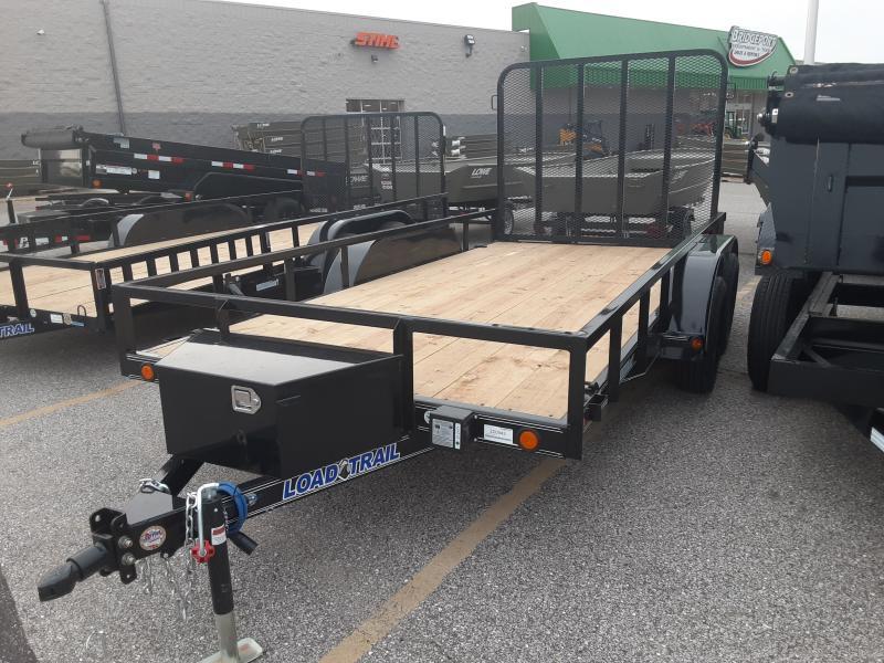 2021 Load Trail UT07 - Tandem Axle Utility 77 x 14 Utility Trailer