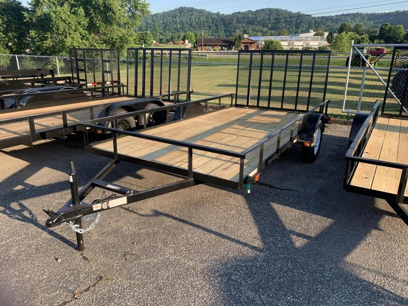 2021 Carry-On 7X14GW WOOD FLOOR LANDSCAPE Utility Trailer