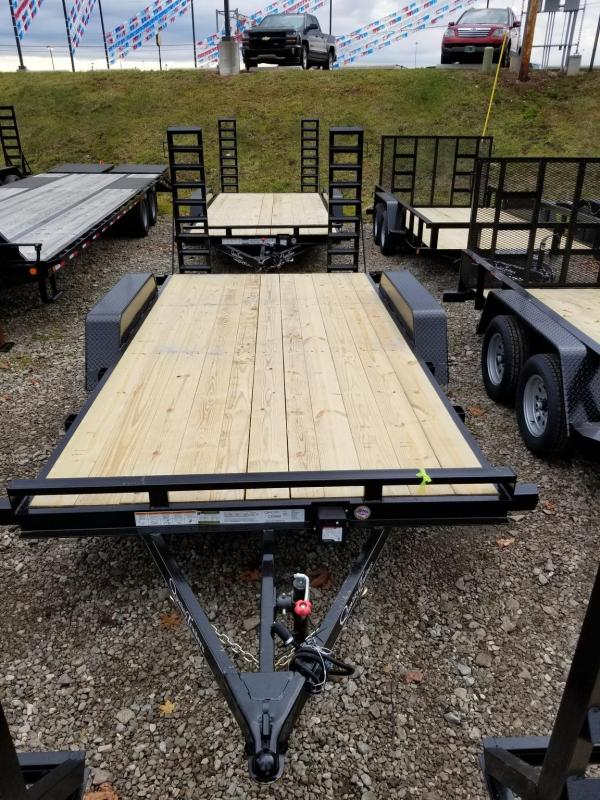 2021 Quality Trailers 16FT GENERAL DUTY WOOD CAR HAULER Utility Trailer