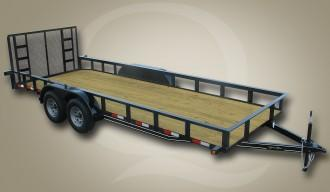 """2020 Quality Trailers 82"""" x 20' (18' + 2' Dove Tail) General Duty Utility Trailer 7K Utility Trailer"""