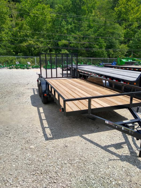 2020 Carry-On 7x16GW Utility Trailer