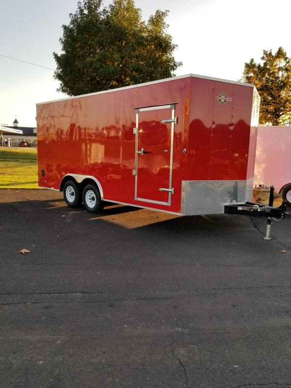 2021 Carry-On 8.5X18CGRCM Enclosed Cargo Trailer