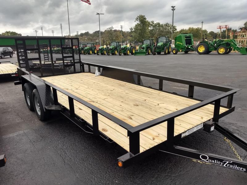 2021 Quality Trailers GEN DUTY LANDSCAPE 18 FT Utility Trailer