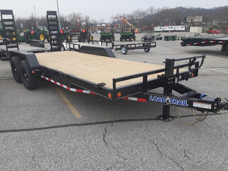 2021 Load Trail CH07 Carhauler 83 x 20 Equipment Trailer