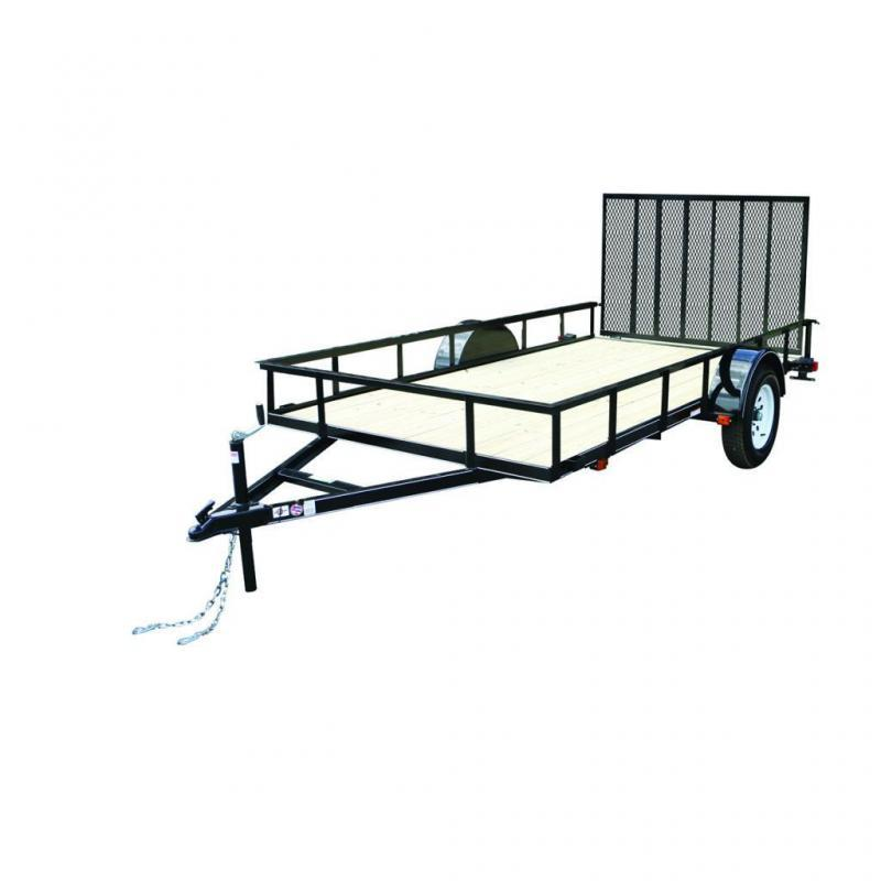2021 Carry-On 6X10GW WOOD FLOOR LANDSCAPE Utility Trailer