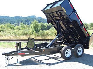 2020 Great Northern Trailer Works 10K Mid Size Dump Dump Trailer