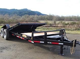 2020 Great Northern Trailer Works 16K Tilt Equipment Trailer