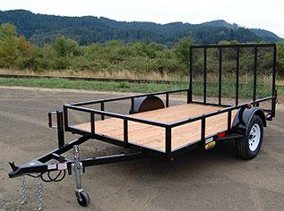 2021 Great Northern Trailer Works Utility Utility Trailer