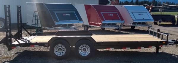 2022 Delco Trailers C520A72K Car / Racing Trailer