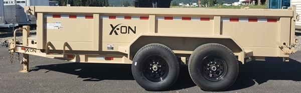 2020 X-On DT831427 Dump Trailer