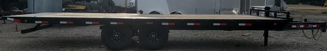 2021 PJ Trailers T8222 102x22 Tilt Flatbed Trailer