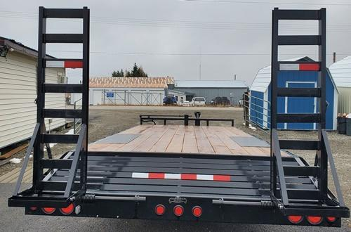 2021 PJ Trailers T8222 102x22 Flatbed Trailer