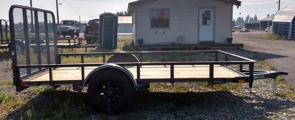 2022 Delco Trailers U212U31G Utility Trailer