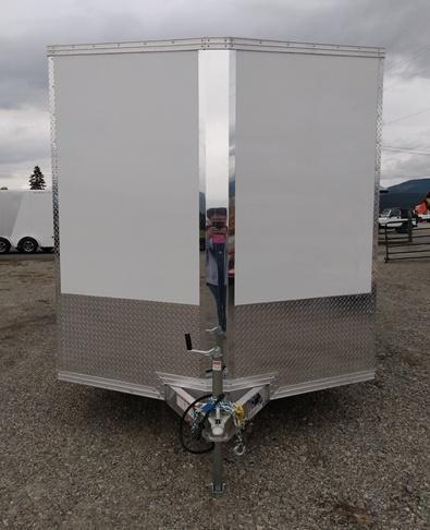 2022 ALCOM C7.5x16S-UTV Enclosed Cargo Trailer