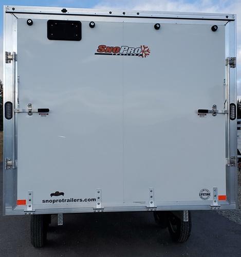 2021 Snopro E605x14ES-E101X14 Snowmobile Trailer