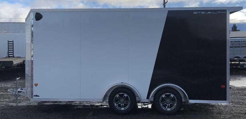 2021 CargoPro Trailers C7.5x16S 7.5x16 Enclosed Cargo Trailer black/white