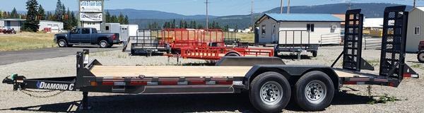 2020 Diamond C Trailers EQT207L-20X82 Equipment Trailer