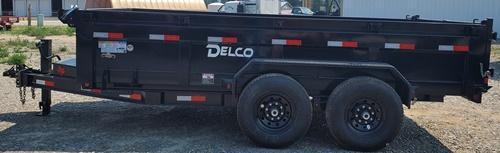 2021 Delco Trailers D814A72WK Dump Trailer