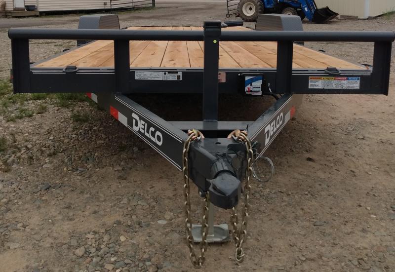 2021 Delco Trailers C41862ESPG Utility Trailer