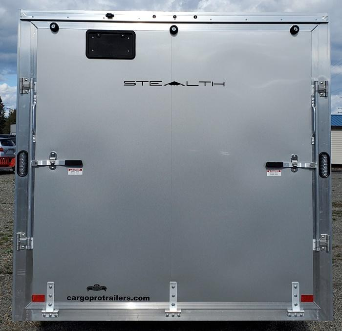 2021 ALCOM Stealth Enclosed Cargo Trailer