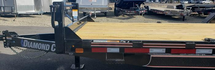 2020 Diamond C Trailers EQT207L20x82 Equipment Trailer