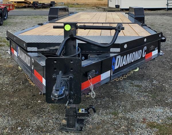 2021 Diamond C Trailers HDT208L22x80 Equipment Trailer