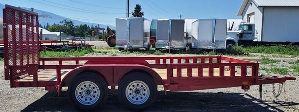 2021 East Texas UT8314032 Utility Trailer