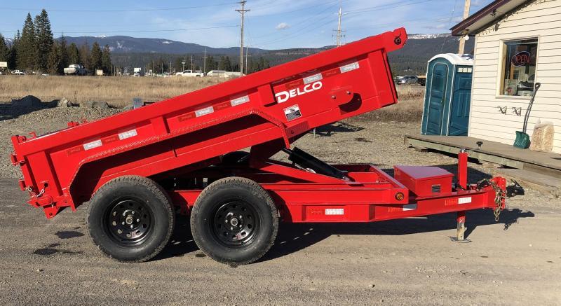 2021 Delco Trailers D110A62WR Dump Trailer