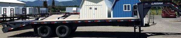 2020 Lamar Trailers FD02252A Flatbed Trailer