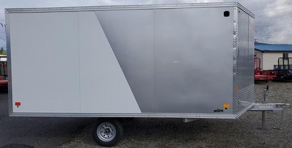 2021 Snopro HYB101X12HYBRID 2.0 Snowmobile Trailer