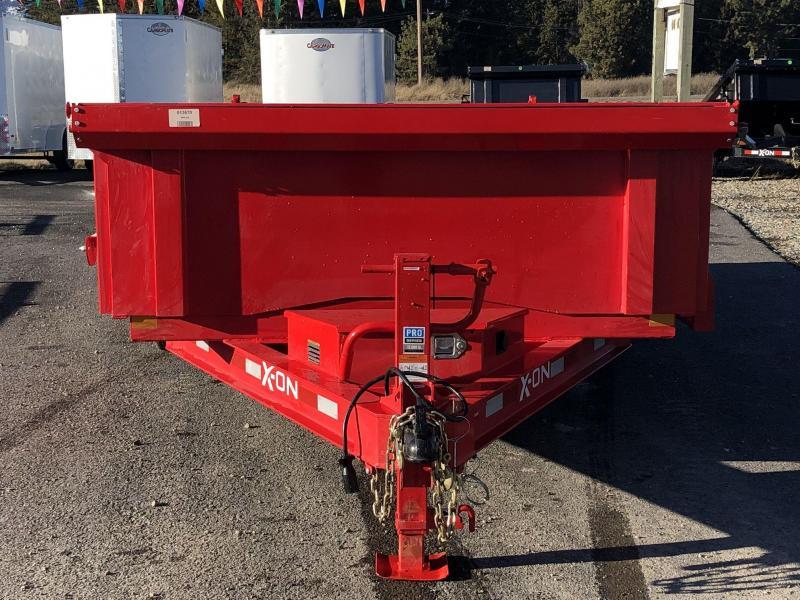 2021 X-On D316A712WR Dump Trailer