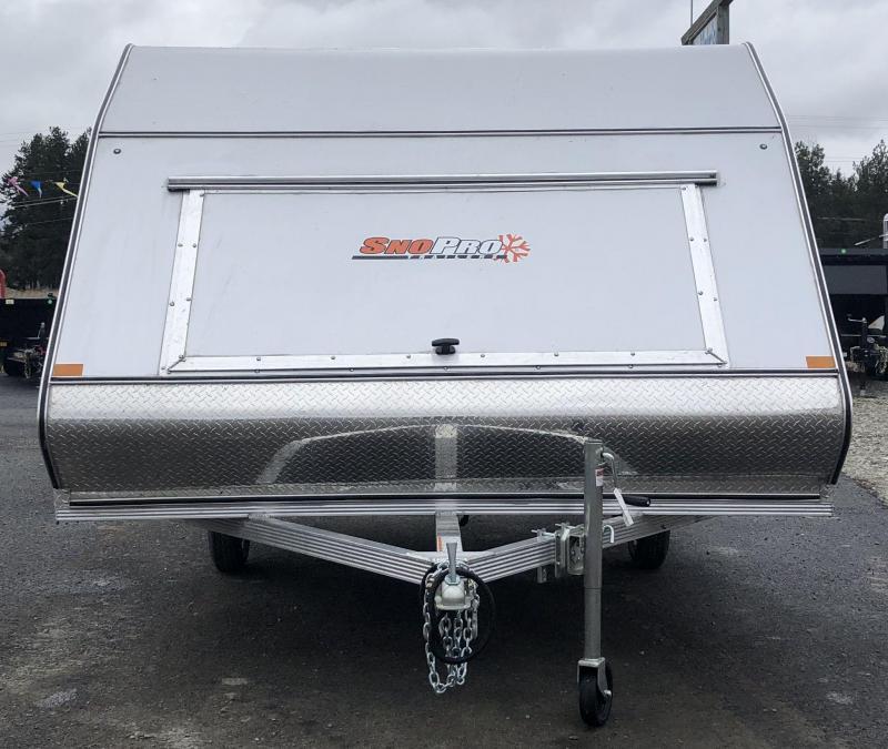 2021 SnoPro ZHYB101x12LSMT20 Snowmobile Trailer